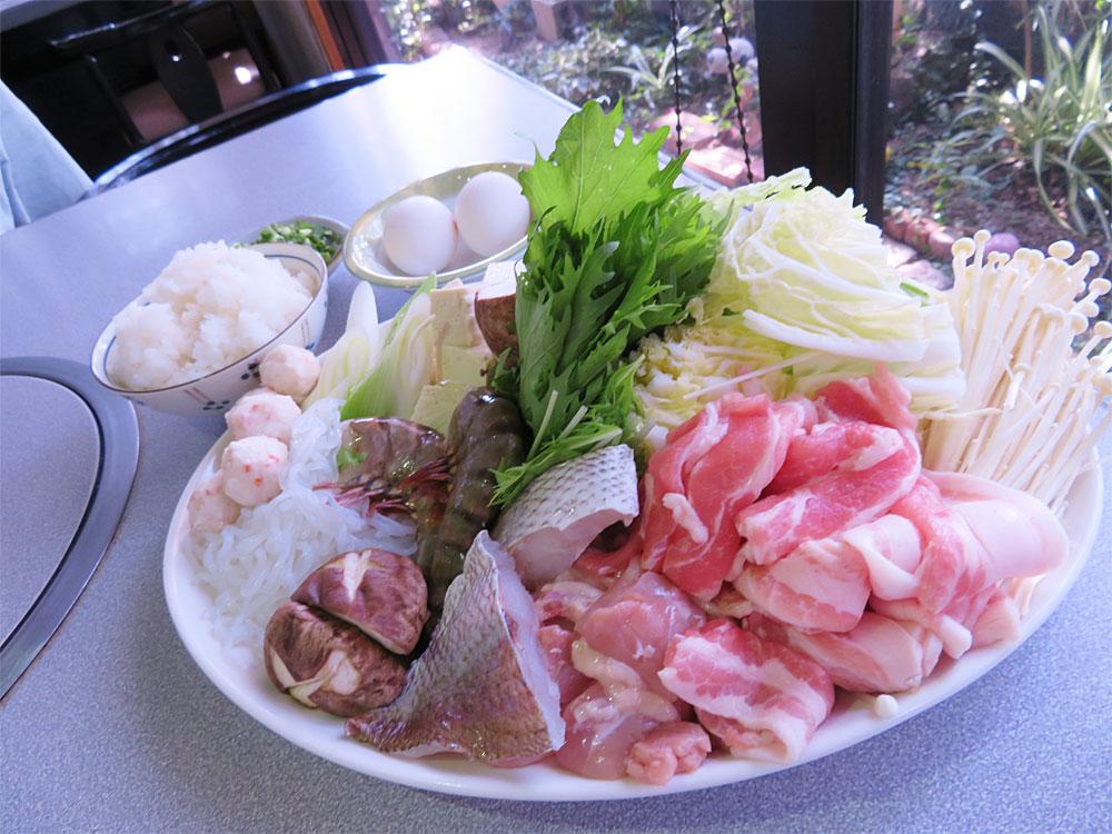 【一棟貸で気兼ねなく♪】Dプラン 寄せ鍋コース 〜リーズナブルにしまなみ海道旅を体験できます♪〜